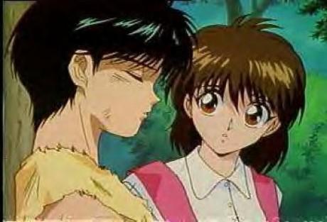 yu yu hakusho yusuke and keiko
